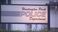 KTLA Exterior of Huntington Park Police Department on June 3 2015