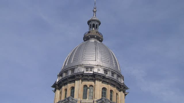 Exterior Of Illinois Capitol Building on January 16 2011 in Springfield Illinois
