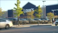 Exterior of Lowe's Home Improvement Store on October 20 2013 in Brooklyn New York
