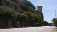 KIAH Exterior of Minute Maid Park previously known as The Ballpark at Union Station Enron Field and Astros Field is a baseball field in Houston Texas...