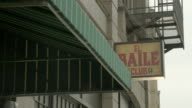 LA Exterior of Spanish dance club El Baile / Los Angeles, California, United States