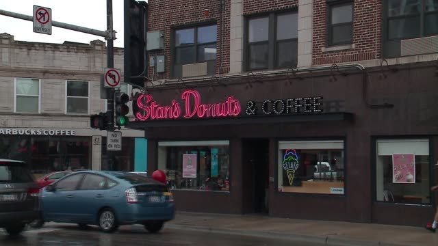 WGN Exterior of Stan's Donuts Coffee in Chicago on April 19 2017