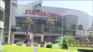 KTLA Exterior Of Staples Center on January 06 2012 in Los Angeles California