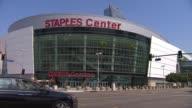 Exterior of Staples Center