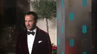 Exterior red carpet shots of Tom Ford Fashion Designer and Film Director at the BAFTA Awards at the Royal Albert Hall on February 12th 2017 in London...