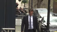 Exterior shot Jeremy Hunt MP Health Secretary departing Downing Street exit in London England on Tuesday 14th March 2017
