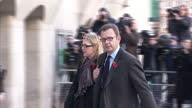 Exterior shots Andy Coulson former editor of the News of the World walks down road and into the Old Bailey for phone hacking trial Rebekah Brooks...