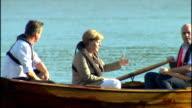 Exterior shots British Prime Minister David Cameron German Chancellor Angela Merkel Swedish Prime Minister Fredrick Reinfeldt Dutch Prime Minister...