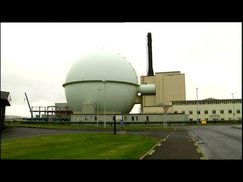 exterior shots Dounreay power plant reactor dome