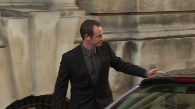 Exterior shots Greg Reardon boyfriend of murdered woman Joanna Yeates arriving at Bristol Crown court for the trial of Vincent Tabak Greg Reardon...