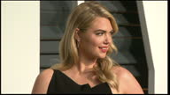 Exterior shots Kate Upton poses for press on February 22 2015 in Los Angeles California
