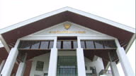 Exterior shots Koh Samui Courthouse where trial of Win Zaw Htun and Zaw Lin is taking place for murder of two British backpackers on July 08 2015 in...