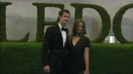 Exterior shots of Andy Murray and long term girlfriend Kim Sears arriving on the red carpet at the Wimbledon Championship 2013 Winner's Ball...