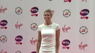 Exterior shots of Angelique Kerber on WTA Pre Wimbledon party red carpet at Kensington Rooftop Gardens London Angelique Kerber Pre Wimbledon party...