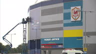 Exterior shots of Cardiff City Stadium home of Cardiff City Football Club>> on August 21 2014 in Cardiff Wales