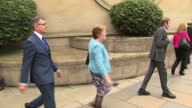 Exterior shots of David and Cathy Logan parents of Cameron and Blair Logan departing Glasgow High Court after the conviction of Blair Logan for the...