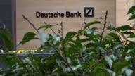 Exterior shots of Deutsche Bank on January 31 2017 in London England