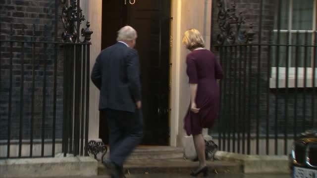 Exterior shots of Environment Secretary Michael Gove Home Secretary Amber Rudd Foreign Secretary Boris Johnson Northern Ireland Secretary James...