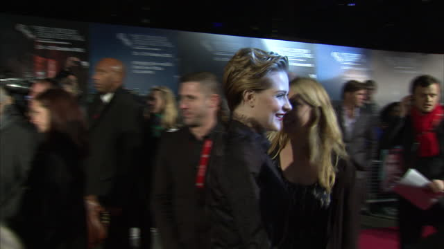 Exterior shots of Evan Rachel Wood at premiere of The Ides of March