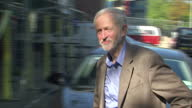 Exterior shots of Labour Party Leader Jeremy Corbyn arriving for the Labour party conference in Brighton>> on September 26 2015 in Brighton England