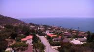 Exterior shots of lush gardens of various luxury houses around Malibu overlooking the Pacific Ocean on June 05 2015 in Malibu California