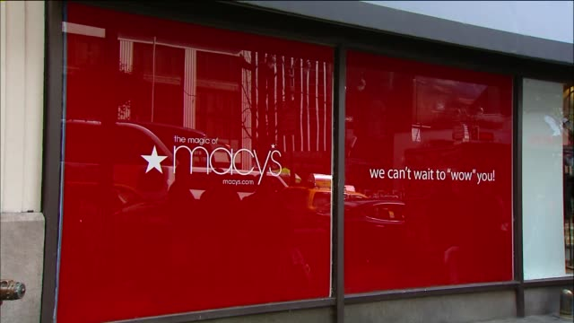 Exterior Shots of Macy's Store at Herald Square at Macy's Herald Square on October 28 2013 in New York New York