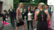 Exterior shots of Maria Sharapova on the Pre Wimbledon party red carpet at Kensington Rooftop Gardens in London Maria Sharapova Pre Wimbledon red...