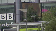 Exterior shots of MediaCityUK complex and broadcasting studios on July 15 2015 in Manchester England