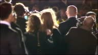 Exterior shots of Michael Jackson King of Pop arriving on red carpet of World Music awards 2006 and pose for photos with entourage
