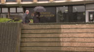 Exterior shots of Michael Mount arriving at Teesside Magistrates' Court Michael Mount Arrives at Magistrates Court on May 11 2012 in Middlesbrough...