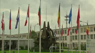 Exterior shots of NATO Headquarters in Brussels>> on October 08 2015 in Brussels Belgium