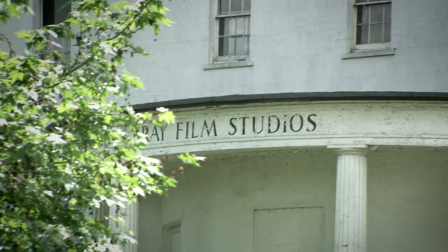 Exterior shots of one of the building at Bray Film Studios