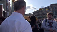 Exterior shots of potential democratic nomination for President Martin O'Malley on a visit to West Baltimore in the wake of riots following the death...
