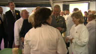 Exterior shots of Prince Charles and Camilla Duchess of Cornwall visiting the Great Yorkshire Show on July 14 2015 in Harrowgate England