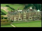 Exterior shots of Sandringham estate the country retreat of Queen Elizabeth II