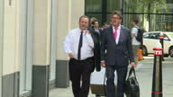 Exterior shots of Sports Direct founder Mike Ashley arriving at the High Court on 5 July 2017 in London United Kingdom