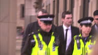 Exterior shots of Stacey Flounders partner of Adam Johnson departing Bradford Crown Court Exterior shots of Footballer Adam Johnson departing...