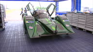Exterior shots of the Drayson Racing B12 69/EV electric car the land speed record holding electric car Interior shots of the engine tyres dash board...