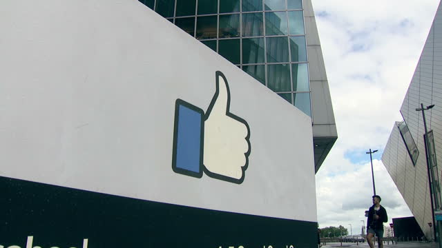 Exterior shots of the Dublin Facebook offices on 29 July 2017 in Dublin Ireland