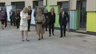 Exterior shots of the Queen and Duke of Edinburgh visiting Battersea Dogs Home>> on March 17 2015 in London England