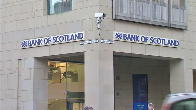 Exterior shots of the Royal Bank of Scotland branch on December 11 2013 in Edinburgh Scotland
