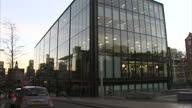 Exterior shots of the Skyscanner head office headquarters HQ in Quartermile on November 24 2016 in Edinburgh Scotland
