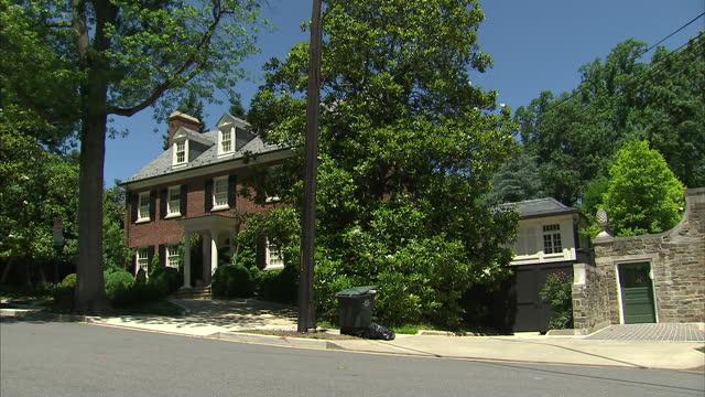 Exterior Shots Of The Suburban Washington Dc Home Of
