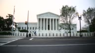 Exterior shots of the Supreme Court building in Washington DC on June 14th 2015 Shots Various exterior shots of the Supreme Court Building as...