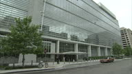 Exterior shots of the World Bank Headquarters building on May 17 2011 in Washington DC United States