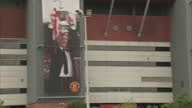 exterior shots Old Trafford Stadium home of Manchester United with focus on Sir Alex Ferguson Stand