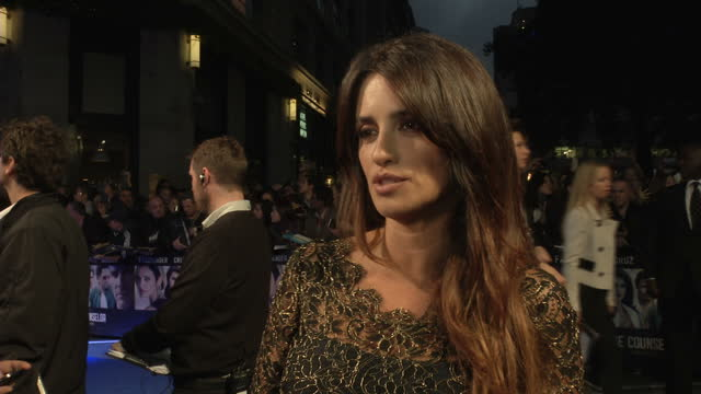 Exterior shots Penelope Cruz actrees talks about all the actors being blown away at acting in 'The Counselor' She also talks about Cormac McCarthy...