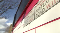 Exterior shots road signs for Holland Park Terrace Portland Road Holland Park Avenue Exterior shots Kensington street scenes on February 23 2015 in...