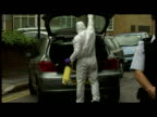 Exterior shots various of police forensics milling about at Matheson Lang House crime scene 15yearold Arsema Dawit was found stabbed to death in a...