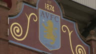 Exterior shots Villa Park football stadium home to Aston Villa FC The Holte End stand and entrance on January 21 2016 in Birmingham England